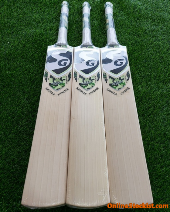 Details about  /SG Savage Xtreme English Willow Cricket Bat Size SH Original Brand