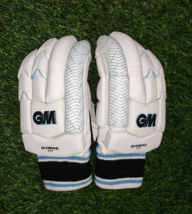 GM Diamond 777 Cricket Batting Gloves Men's