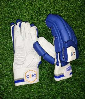 CEAT Maestro Navy Blue Cricket Batting Gloves Men's