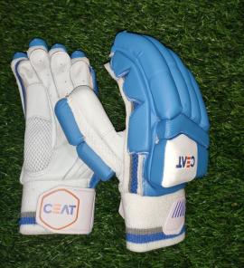 CEAT Maestro Indian Blue Cricket Batting Gloves Men's