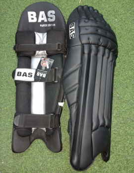 BAS Player Edi Black Cricket Batting Pads Men's