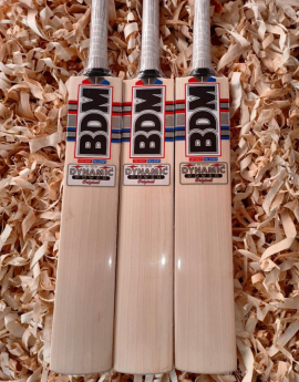 BDM Dynamic Power Original English Willow Cricket Bat Mens Size