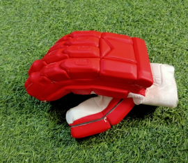 Ultimate Red Light Weight Unbranded Cricket Batting Gloves