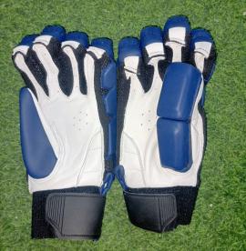 Ultimate Navy blue Light Weight Unbranded Cricket Batting Gloves