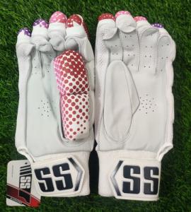 SS DK-19 Players Pink Cricket Batting gloves Men's