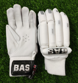 BAS Player White Cricket Batting Gloves Men's