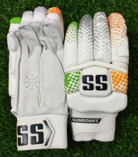 SS DK-19 Players Tri Color Cricket Batting gloves Men's