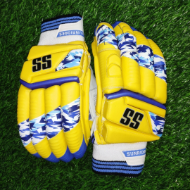 SS T-20 Players Yellow Color Cricket Batting Gloves Men's