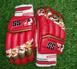SS T-20 Players Red Color Cricket Batting Gloves Men's