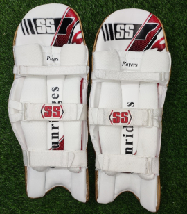 SS Players Golden Cricket Batting Pads Men's