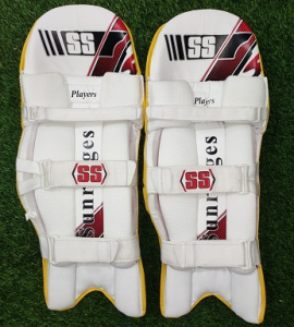 SS Players Yellow Cricket Batting Pads Men's