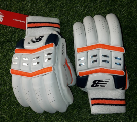 NB DC Pro Cricket Batting Gloves Men's