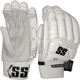 SS Limited Edition All White Cricket Batting Gloves Men's