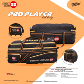 SS Pro Players Cricket Kit Bag Wheels