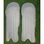 SG Hilite All White Cricket Batting Pads Men's