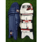 SS Test Opener Navy Blue Cricket Batting Pads Men's